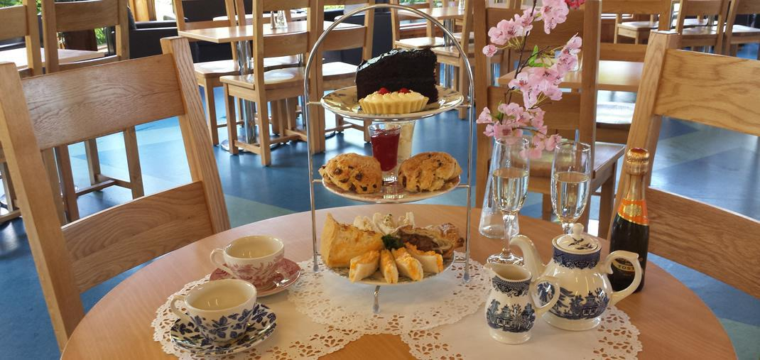 Afternoon Tea at Cafe Azure